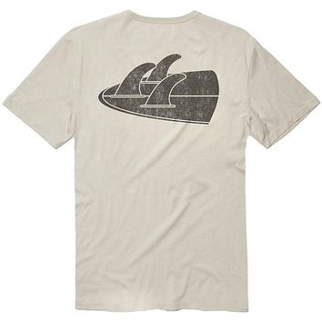 Vissla Backward Fin Beach Grit T