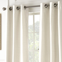 2 Pack Black Out Curtains in Ivory