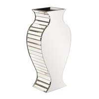 Rounded Mirrored Vase - Small