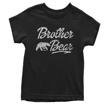 Brother Bear Cub Family  Youth T-shirt