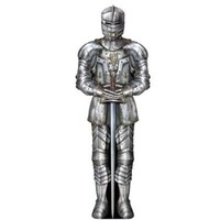 Jointed 6-Foot Suit Of Amour Cutout: Medieval