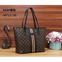 LV Louis Vuitton Women Fashion Leather Satchel Tote Shoulder Bag Handbag size:30*11*30