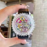 Rolex new men and women personality transparent case watches