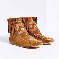 Sam Edelman Katherine Moccasin Boot- Brown