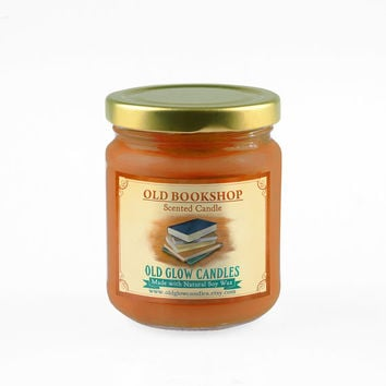 Old Bookshop - Scented Soy Candle