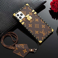 Louis Vuitton LV Classic Popular iPhone Phone Cover Case For iphone 6 6s 6plus 6s-plus 7 7plus 8 8plus iPhone 11 iPhone X XR XS XS MAX PRO MAX
