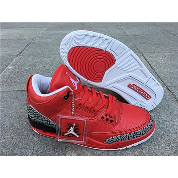 Air Jordan 3 Retro Grateful Basketball Shoes 36-47