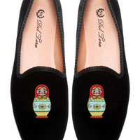 Prince Albert Matryoshka Slipper Loafers by Del Toro for Preorder on Moda Operandi