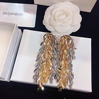 YSL Woman Fashion Accessories Fine Jewelry Ring & Chain Necklace & Earrings 07