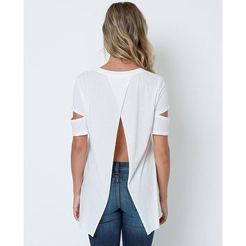 Ready Or Not Top - White Tees