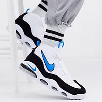 Hipgirls NIKE AIR MAX UPTEMPO 95 New fashion hook men high top shoes White