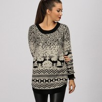 Sale-natural Snow Day Sweater