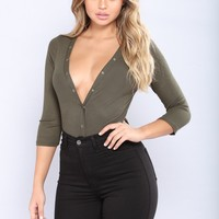 You Could Bet That Tee - Olive