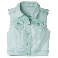 Mossimo Supply Co. Juniors Denim Vest - Assorted Colors