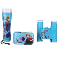 Disney Frozen Adventure Kit w-35mm Camera, Binoculars and Flashlight