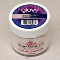 Glam and Glits GLOW ACRYLIC Glow in the Dark Nail Powder 2033 Light-Hearted