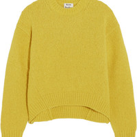 Acne Studios - Shira oversized alpaca-blend sweater