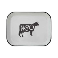 Classic Cow Tray