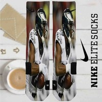 Demarco Murray Philadelphia Eagles Football Custom Nike Elite Socks