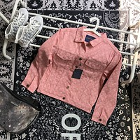 Louis Vuitton LV Monogram Pink Denim Jacket