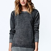Volcom Hey Sugar Crew Sweater - Womens Sweater - Black