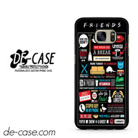 Friends TV Show DEAL-4433 Samsung Phonecase Cover For Samsung Galaxy S7 / S7 Edge