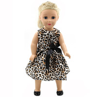 Handmade Multicolor Printing Princess Dress Doll Clothes for 18 inch Dolls American Girl