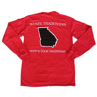 Georgia Athens Gameday Long Sleeve T-Shirt | State Traditions