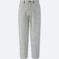 WOMEN COTTON LINEN RELAXED PANTS