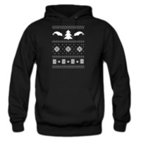 Narwhal Christmas Sweater Hoodie