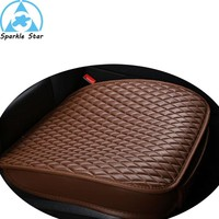 pu leather car pad not moves auto seat cushions non slide car seat cushion pads car accessories seat covers for honda
