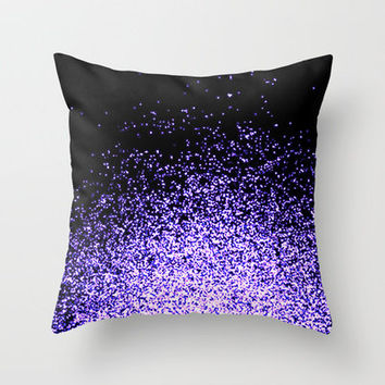 infinity in purple Throw Pillow by Marianna Tankelevich | Society6