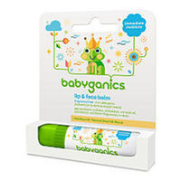 Babyganics Lip and Face Balm- Fragrance Free- 0.25 Ounce Stick