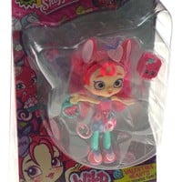 Shopkins Shoppies Wild Style Valentina Hearts N Seekers Tribe Locket Doll Stand