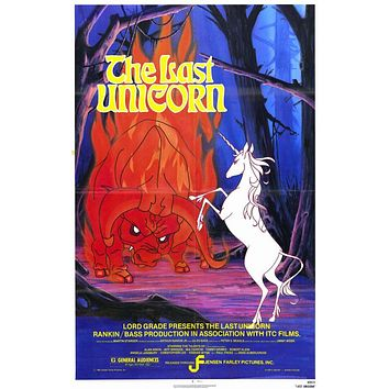 Last Unicorn 11x17 Movie Poster (1982)