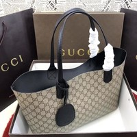 Gucci 368568 GUCCI 2019 Anti-Money Single Delivery black
