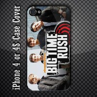 Big Time Rush BTR American Television Series Custom iPhone 4 or iPhone 4S Case