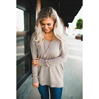 All The Good Things Sweater (Taupe)