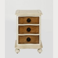Helena French Style 3 Drawer Bedside Table   Wide 3 Drawer Bedside table   French Style Bedroom Furniture