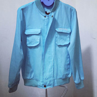 Double Pocket Embroidered Jacket