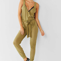 Out From Under Sasha Tie Jumpsuit | Urban Outfitters