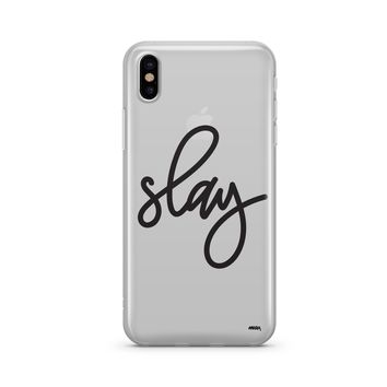 Simple Slay - Clear Case Cover