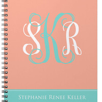 Notebook, Monogram and Name