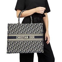 Dior Book Tote Bag Shopping Bag Shoulder Bag Handbag