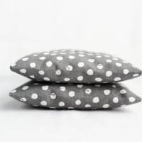 Scented Botanical Sachets Classic Grey and White Polka Dots