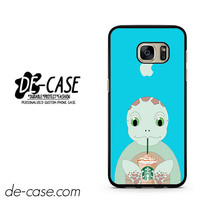 I Love Starbucks Turtle DEAL-5487 Samsung Phonecase Cover For Samsung Galaxy S7 / S7 Edge