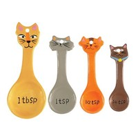 Boston Warehouse Frisky Business Measuring Spoon, Set of 4