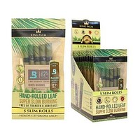 King Palm Super Slow Burning Wraps - Slim (Pack of 5)