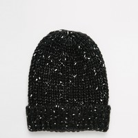 ASOS Speckled Knit Beanie at asos.com