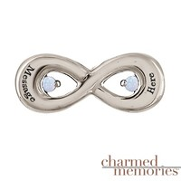 Kay - Charmed Memories Couple's Infinity Charm Sterling Silver